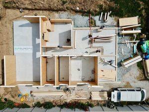 výstavba rodinné domy sip panel technológia